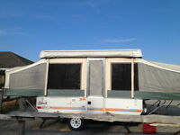 Pop Up Camping Trailer For Rent 10ft Jayco Qwest