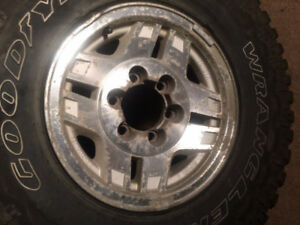 FS: 6 larger size tires for truck