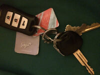 Keys found on College and Frood