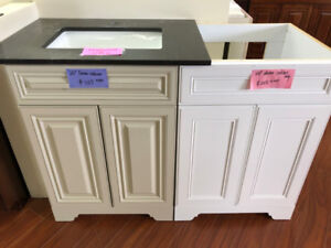 "24"" maple solid wood vanity cabinets on SALE!!"