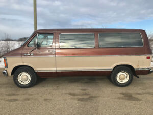 1983 Dodge 250 full size van. Must be seen. Comes with inspectio