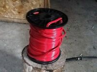 Fil Rouge 12/2   Red wire 12/2
