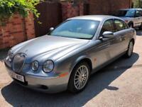 Jaguar S-TYPE 2.7D V6 auto XS, 82K, 12 MONTHS MOT, FSH, 2 KEYS, VGC!
