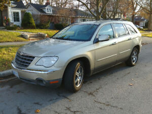 2007 Chrysler Pacifica with Winter Tires and Remote Start