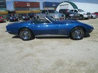 1971 Corvette Stingray Convertible 330HP 4spd
