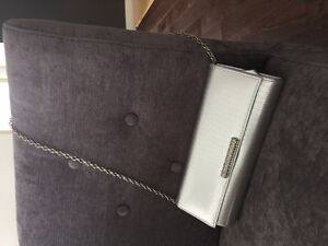 Beautiful silver clutch, Aldo brand. Was used only for a few hou