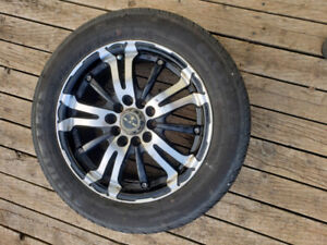 RTX rims with 195/60/15 low profile tires
