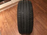 225/45 18 part worn Michelin Primacy 3 run flat tyre