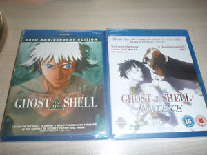 Ghost in the Shell and Ghost in the Shell 2: Innocence(sealed)