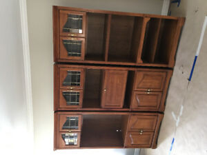 Three Piece Wall Unit for Sale!