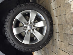 Ford F-150 FX4 Wheel and KO2