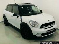 2014 14 MINI COUNTRYMAN 2.0 COOPER SD 5D 141 BHP DIESEL AUTOMATIC IN WHITE