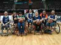 Wheelchair basketball league looking for players