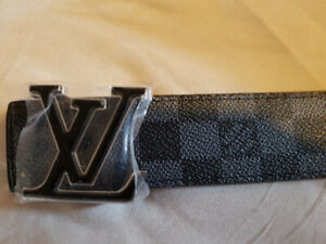 Name brand belt Silver buckles LV!! $30 1 day sale!!
