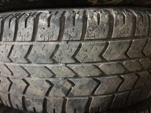 225/70 R16 Arctic Claw Snow Tires with rims