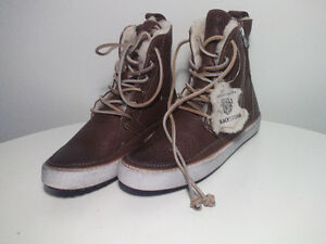 WiNTER BOOTS- (hand-crafted) Made in Norway SHEEP WOOL iNSULATIO