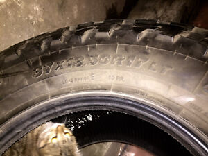 """Used 37"""" Toyo Open Country Tires Strathcona County Edmonton Area image 3"""