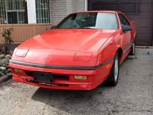 1987 Chrysler Other Coupe (2 door)