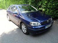 Vauxhall Astra 1.6i 16v auto 2004 ,Club,Blue.