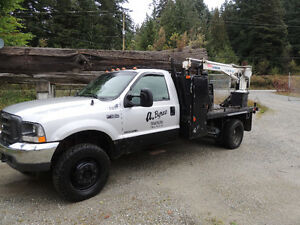 2001 Ford F-550 Shop Truck