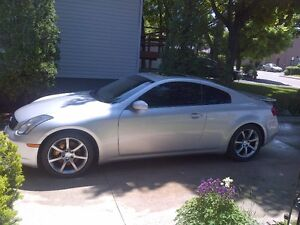 G35 coupe, excellent condition, very low KM's