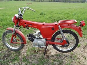 VINTAGE YAMAHA YG1 TRAILMASTER 80CC MOTORBIKE TO BE COMPLETED