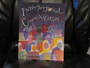 Interpersonal Communication: Relating to Others, 2nd Canadian ed