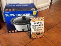 Brand new slow cooker and box