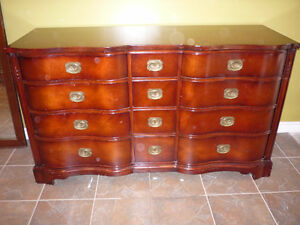 Antique Mahogany Wood (Cherry finish) Dressers & Side Tables