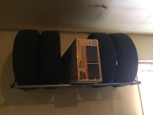 Winter tires and wheel (195/65R15) London Ontario image 1