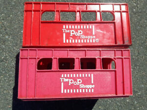 2 pop Shoppe  cases  very rare,  handy for wine or beer makers