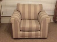 Next medium sofa and armchair