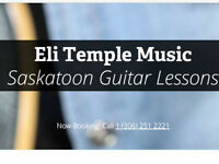 Saskatoon Guitar Lessons - Eli Temple Music