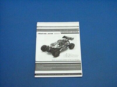 Benutzerhandbuch RC Car Buggy Challenger 3,0ccm M 1:10 -378-4413 gebraucht kaufen  Iserlohn