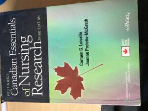 Canadian Essentials of Nursing Research