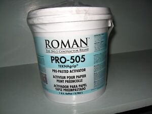 Roman Pro-505 Pre-Pasted Wallpaper Activator