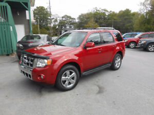 2010 Ford Escape 5 DOOR LIMITED SUV,3 YEAR WARRANTY INCLUDED