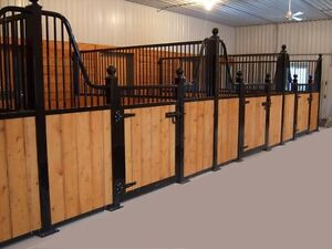 Horse Stalls and Custom Welding
