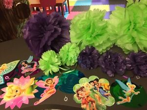 Tinkerbell/ fairy party decor