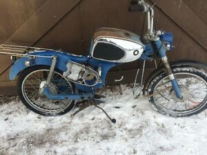 Parting Out 1960s Suzuki K11 80cc