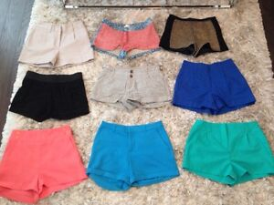 Lot of 6 shorts size 1-2