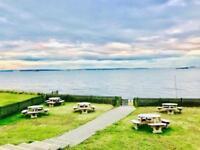 Cheap Static caravan for sale,Solent breezes, Sea Views, DG+CH Free 2018 fees