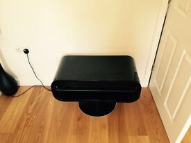 Black Gloss TV stand or side table