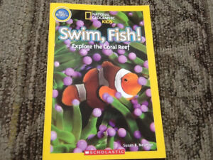 NATIONAL GEOGRAPHIC KIDS PRE-READER BOOK SCHOLASTIC