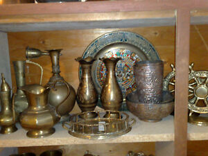 BRASS HANDICROFTS AND ANTIQUES