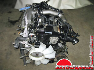 ENGINE NISSAN SKYLINE R33 GTS-T JDM RB25DET 2.5L TWIN CAM TURBO
