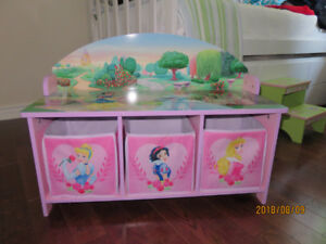 Adorable Disney Bench/Toy Box