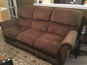 Electric Recliner Sofa by Lazyboy - Prestine condition.