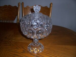 Vintage compote  early 1900's American glass co.