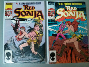Marvel comic lot of 2 Red Sonja complete 2 issue mini series $5